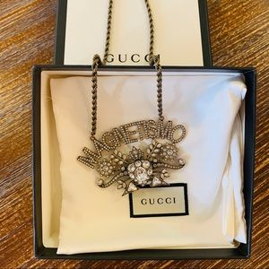 NEW GUCCI Magnetismo Necklace